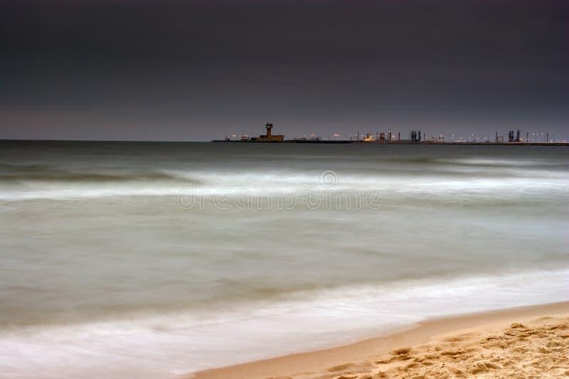 Port du nord, Danzig, Pologne photo stock