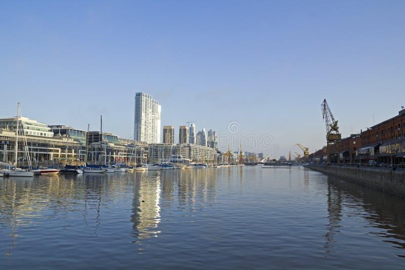 Port du numéro 2. de dock de Buenos Aires. photographie stock libre de droits