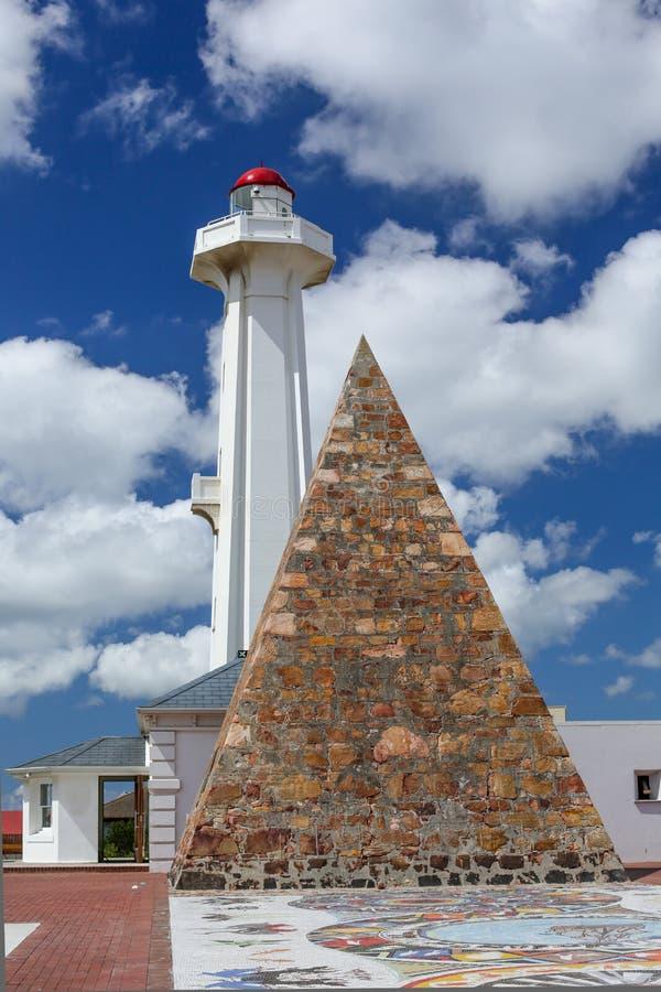 Port Elizabeth灯塔 免版税库存图片