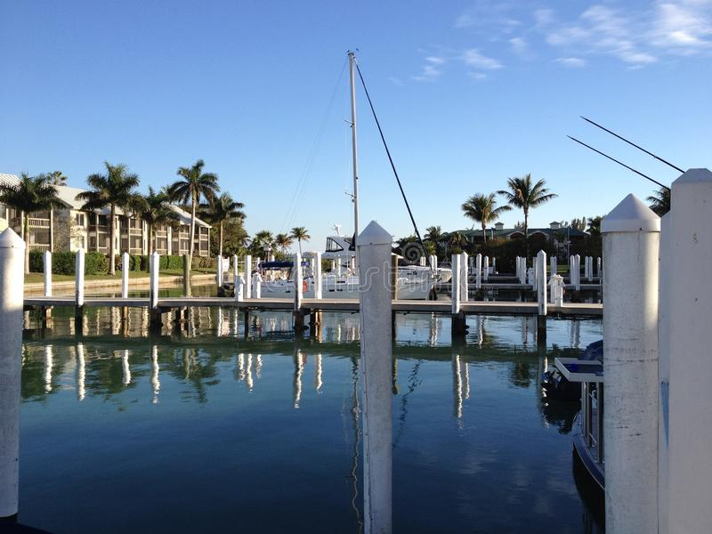 Port en Floride photographie stock libre de droits