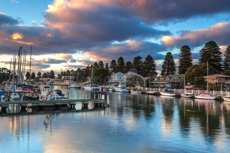 Port Fairy royalty free stock images
