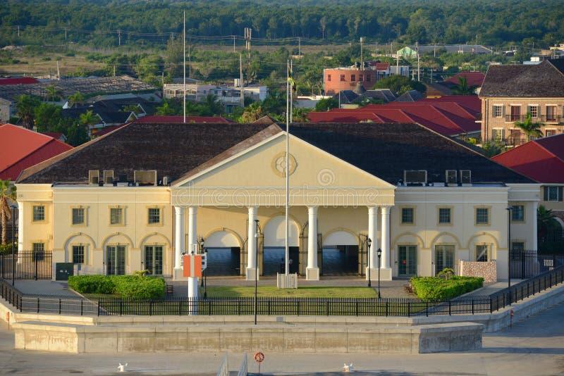 Port Falmouth, Jamajka fotografia royalty free