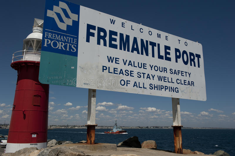 Port of Fremantle royalty free stock images