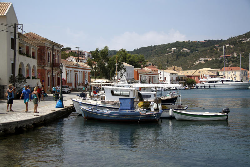 Download Port Of Gaios (Paxos, Greece) Editorial Stock Image - Image: 33471884