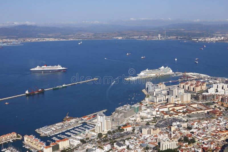 Download Port of Gibraltar stock photo. Image of buildings, gibraltar - 16609468