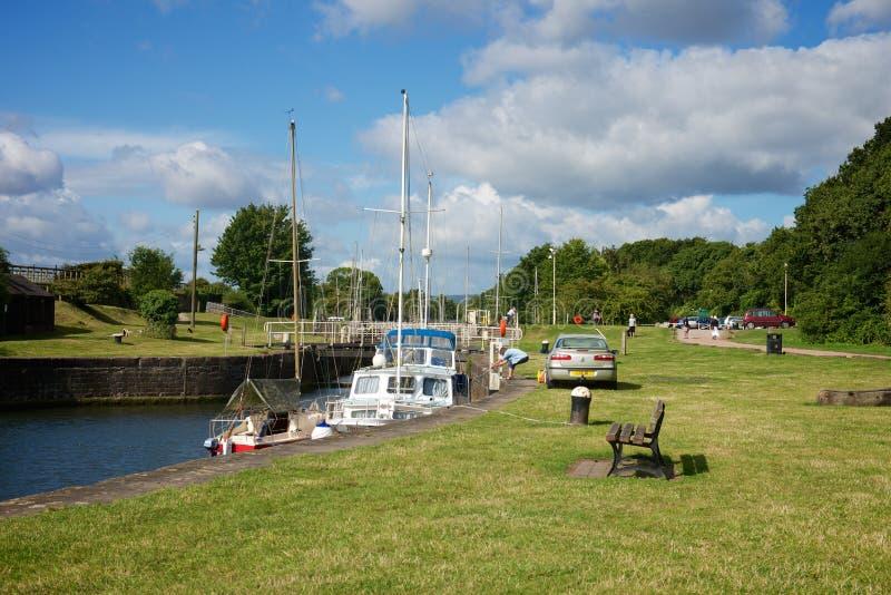 Port Gloucestershire de Lydney photos libres de droits