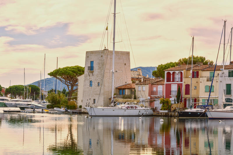 Port Grimaud royalty free stock photography