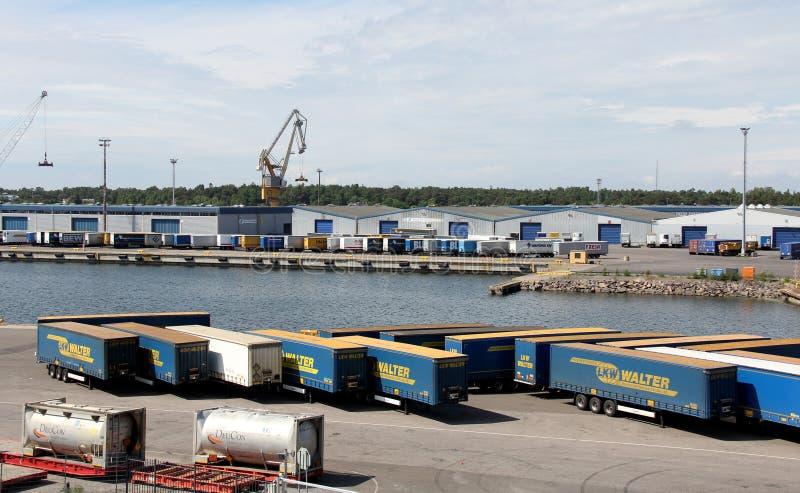 Port Hanko, Finlandia obraz stock