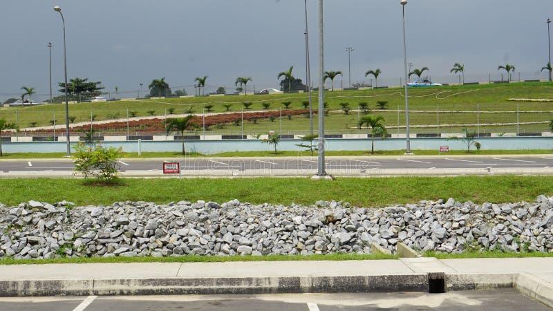 Port Harcourt-Vergnügenspark lizenzfreies stockbild