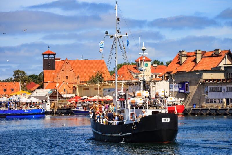 Port of Hel stock photo