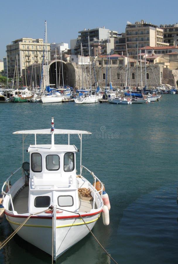 port heraklion fotografia royalty free