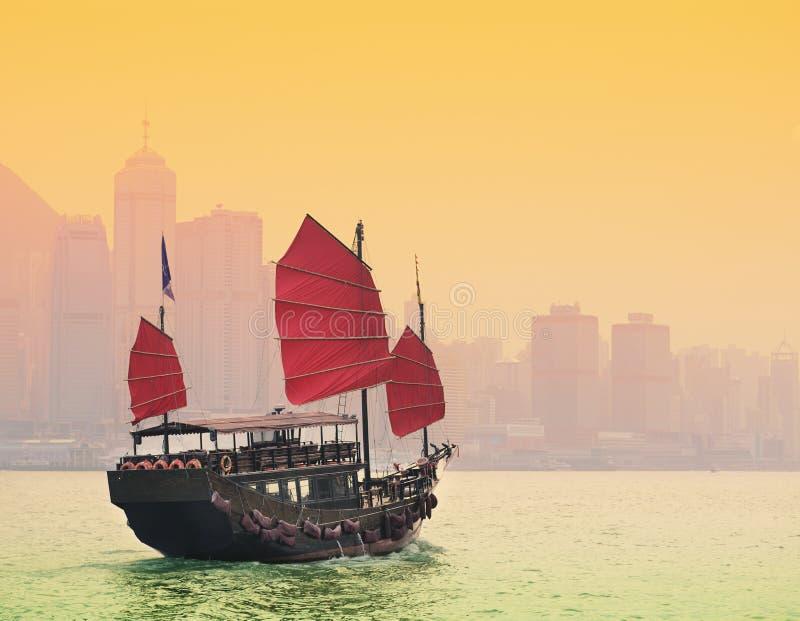 Port Hong Kong de Victoria image stock