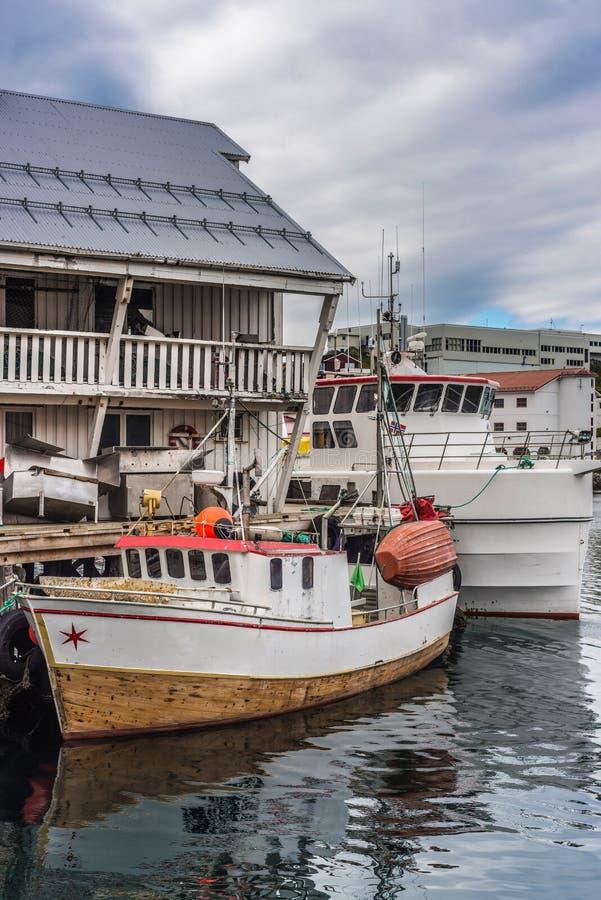 Download Port Honningsvag W Finmark, Norwegia Zdjęcie Stock - Obraz złożonej z destination, naturalny: 65226008