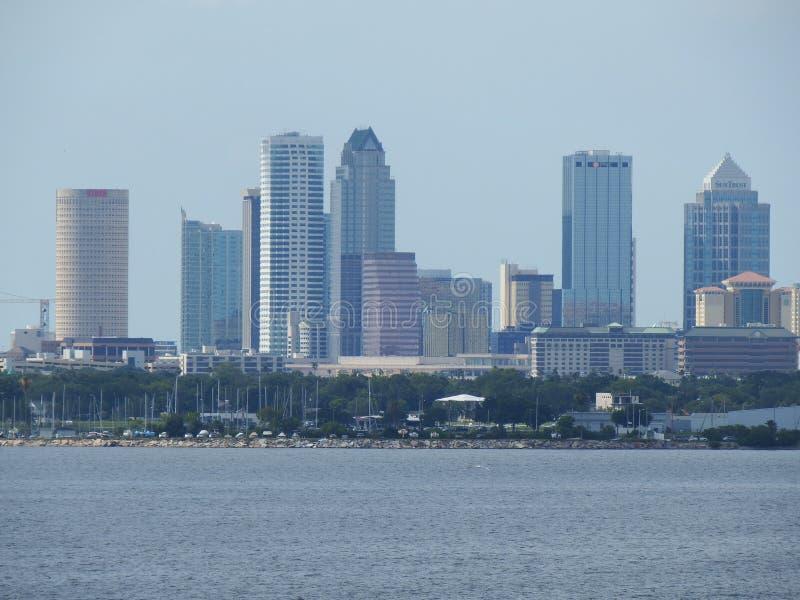 Port horizon de Tampa, la Floride, Tampa sur l'eau photographie stock