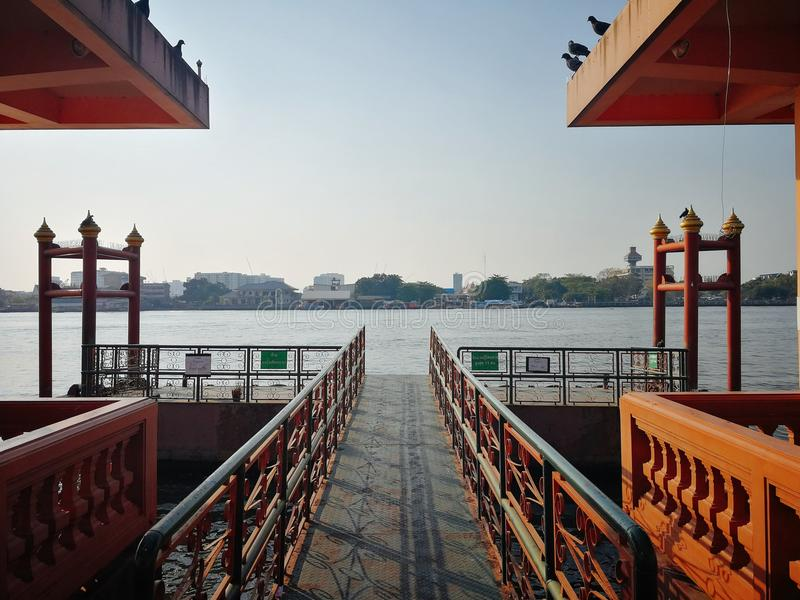 Port i Bangkok arkivbilder