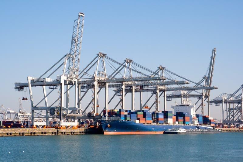 Port industriel photos stock