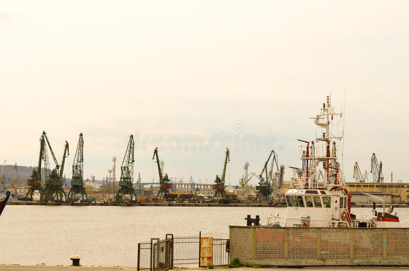 Port industriel photos libres de droits