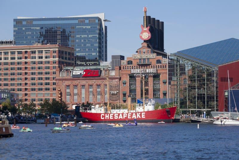 Port intérieur - Baltimore, le Maryland photographie stock libre de droits