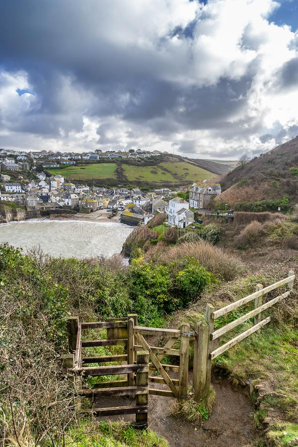 Port Issac royalty free stock images
