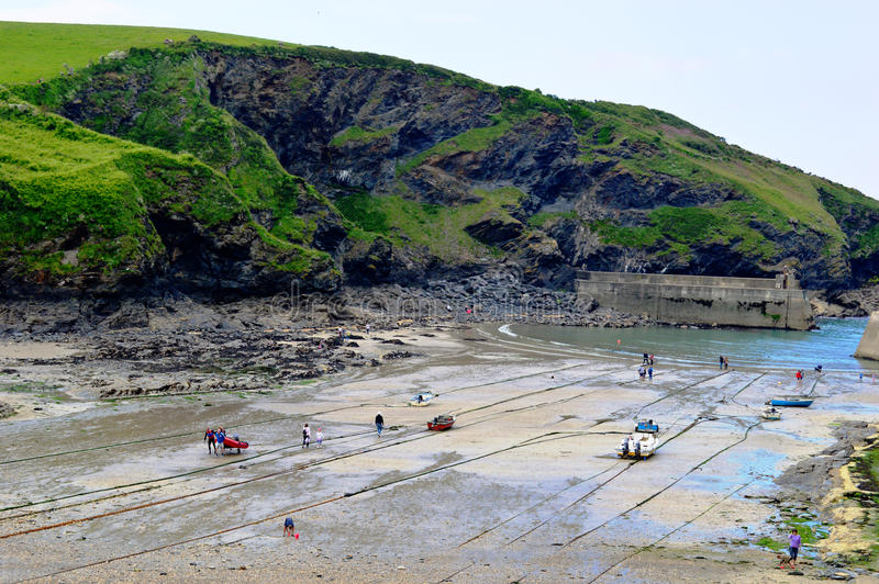 Port Issac stock images