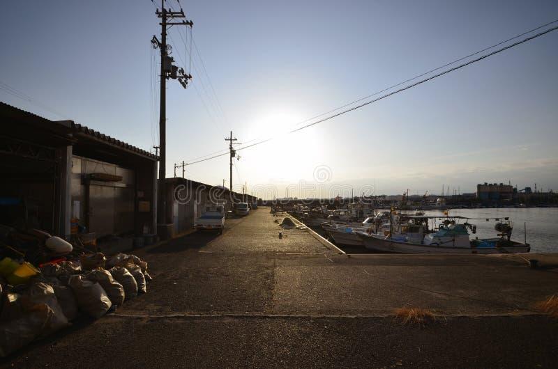 Port japonais photo libre de droits