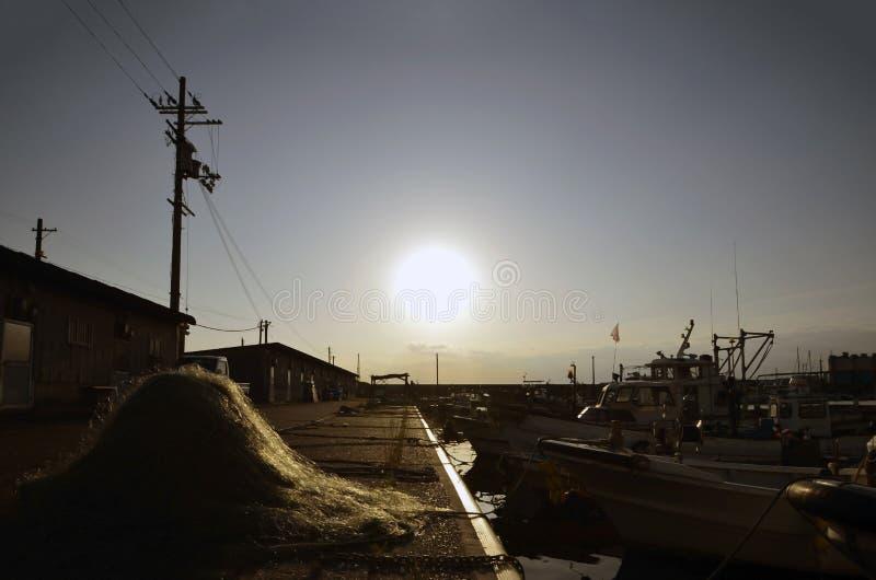 Port japonais photo stock