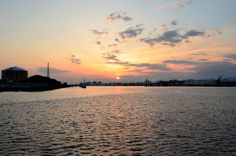 Port japonais photos libres de droits
