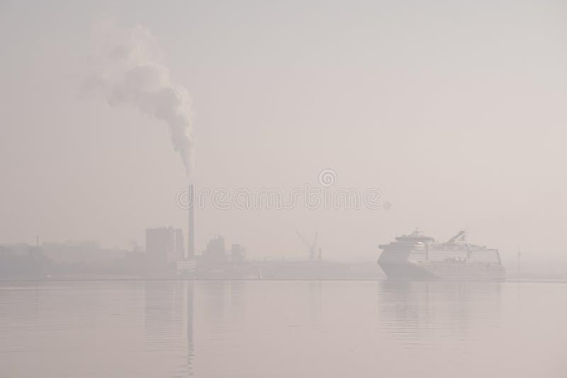 Download Port of Kiel stock image. Image of pollution, blinding - 36316305