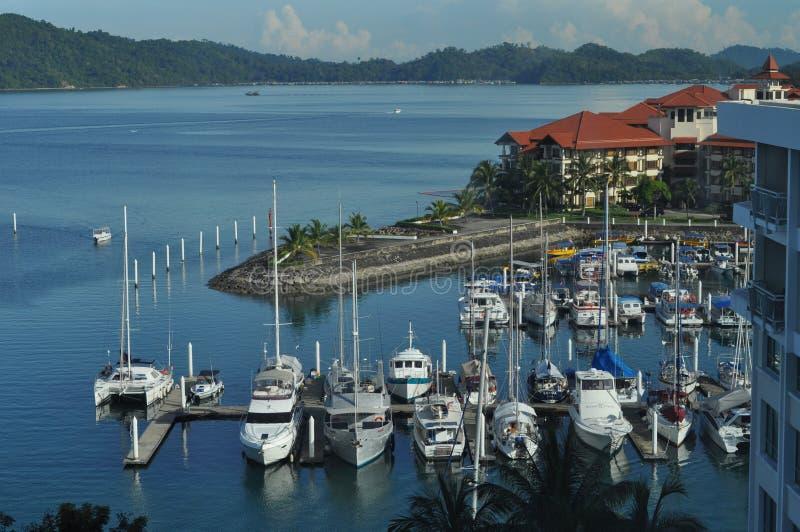 Port Kota Kinabalu Malaysia de Sutera photographie stock