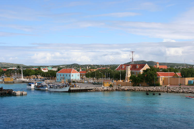 Download Port Of Kralendijk - Dutch Antilles Stock Image - Image: 22340569