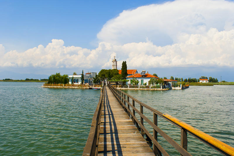Port Lagos area at Thrace. Greece royalty free stock images