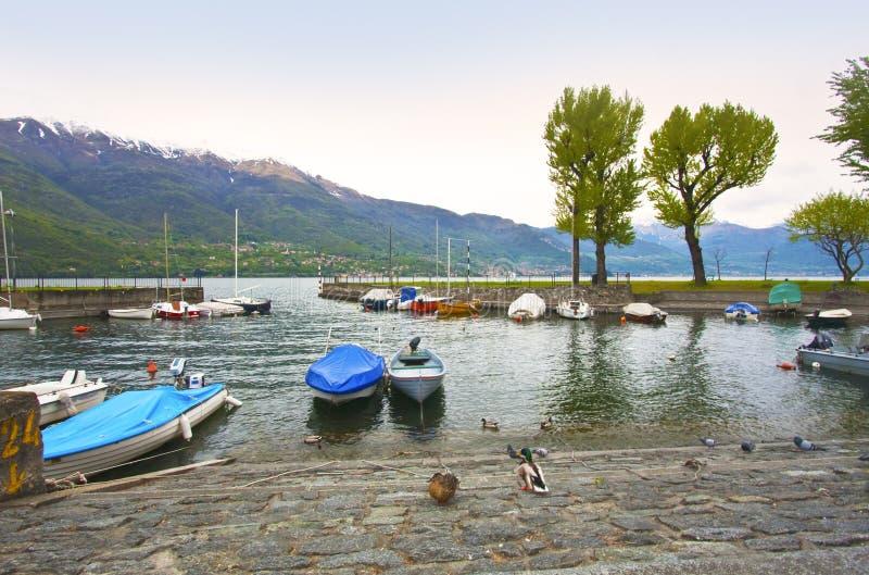 Port on the lake