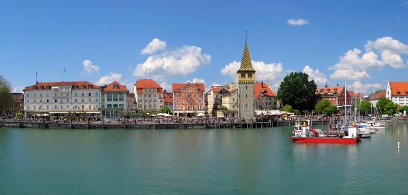 Port of Lindau stock images