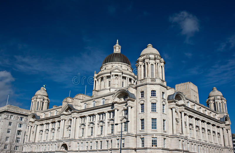 Download Port of Liverpool building stock photo. Image of tourist - 23669232