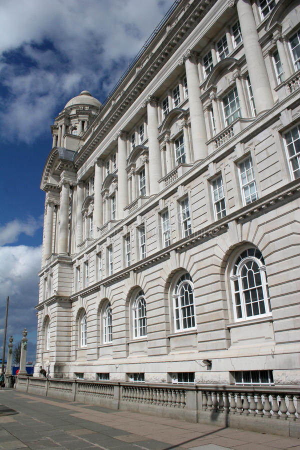 Download Port of Liverpool building stock photo. Image of architecture - 9469978