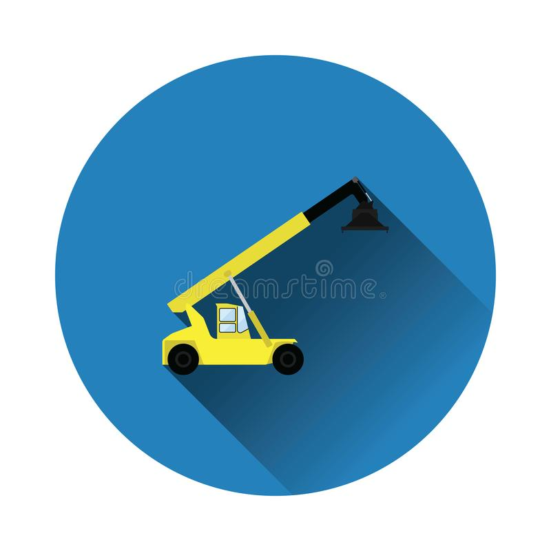 Port loader icon royalty free illustration