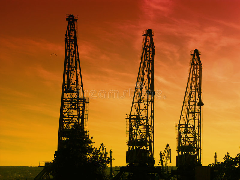 Download Port of loading stock photo. Image of industrial, industry - 1366520