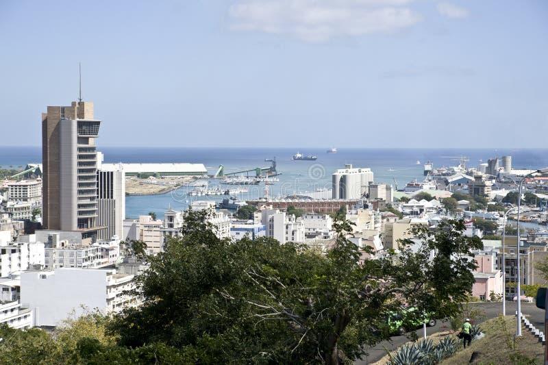 Port Louis foto de archivo libre de regalías