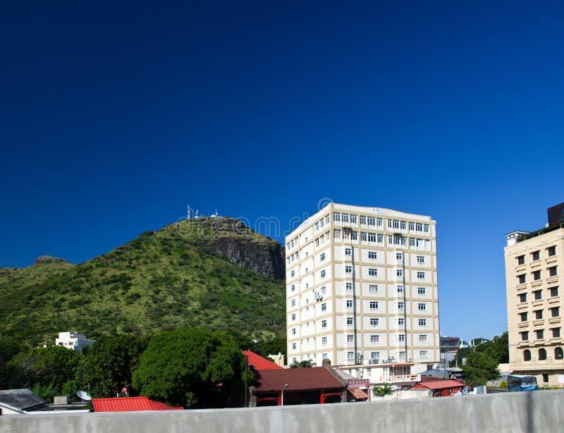 Port-Louis.capital de Mauricio foto de archivo libre de regalías