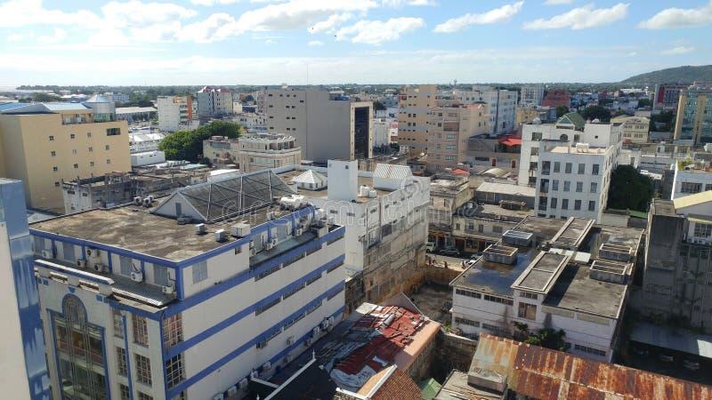 Port-Louis, hoofdstad van Mauritius royalty-vrije stock afbeeldingen