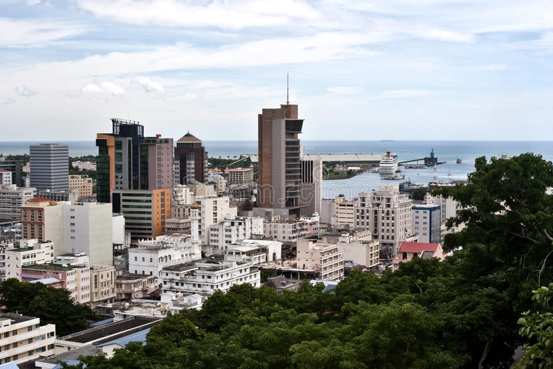 Port Louis - Isla Mauricio fotos de archivo libres de regalías