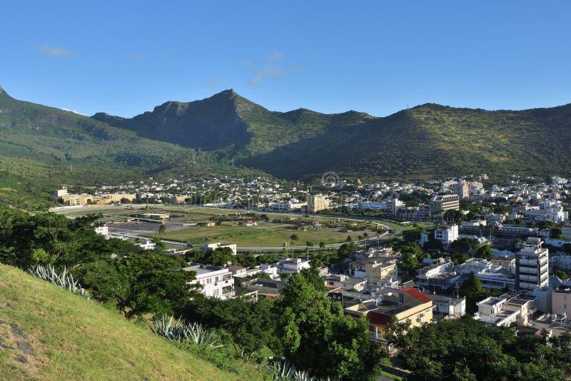 Port-Louis la capitale des Îles Maurice image libre de droits