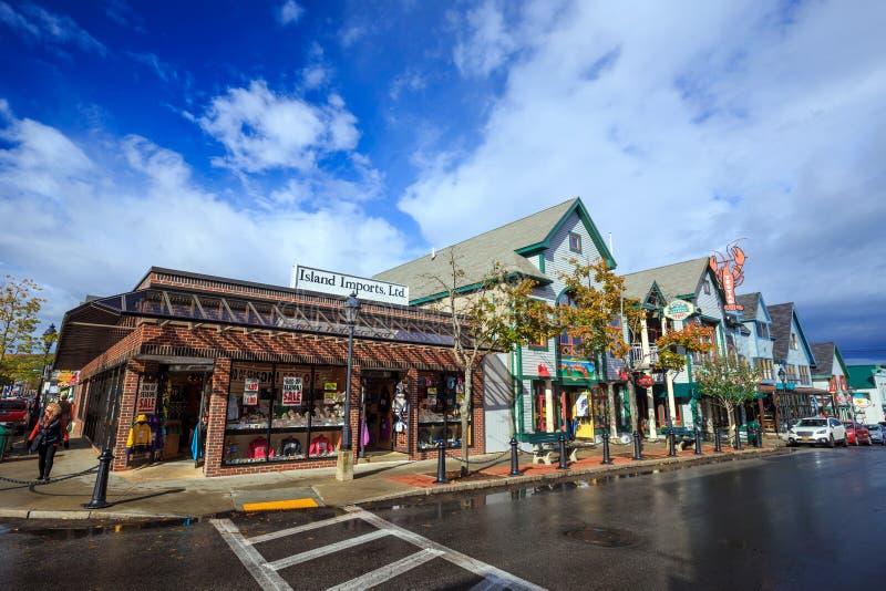 Port Maine de bar photographie stock libre de droits
