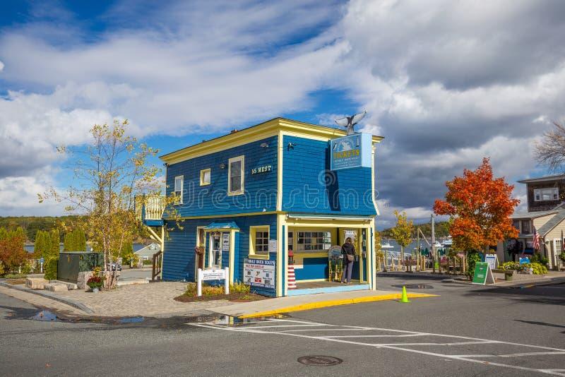Port Maine de bar photo stock