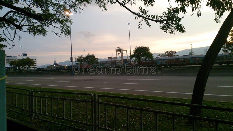 Port Malaisie de Penag photos libres de droits