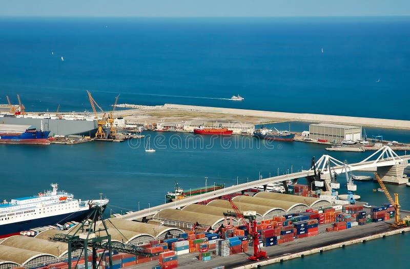 Port maritime image libre de droits