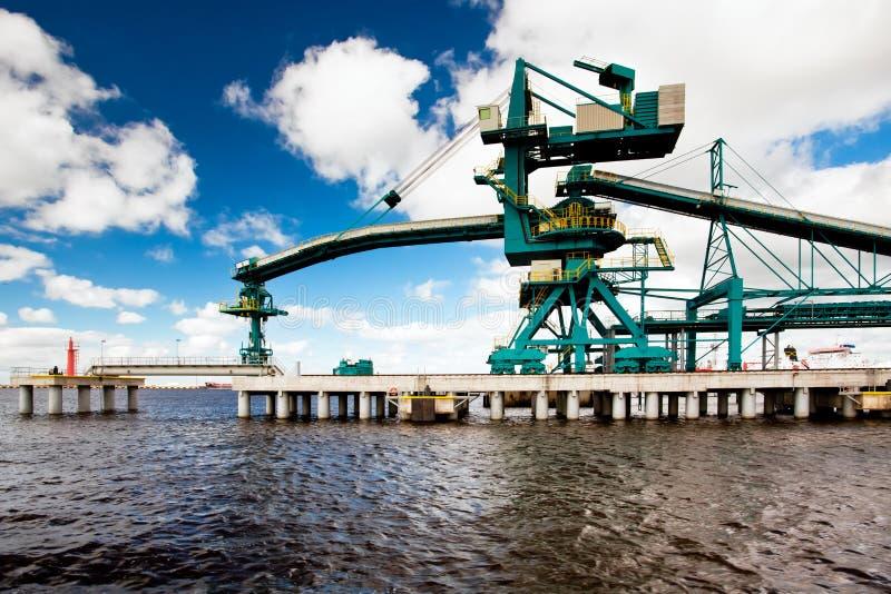 Port maritime Ventspils photos stock
