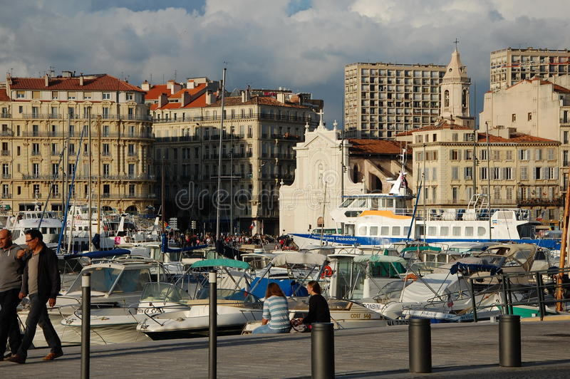 Download Port of Marseilles, France editorial stock image. Image of marseille - 34674544