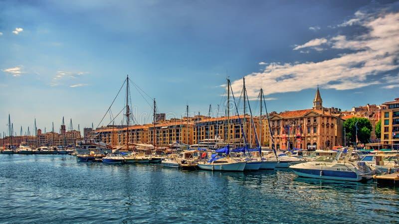 Port-3 Marsella-viejo fotos de archivo libres de regalías