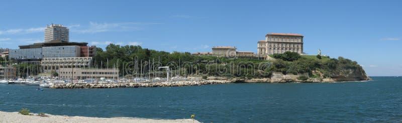 port Marsylii frontowe stary obrazy stock